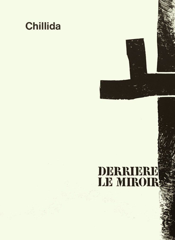 Eduardo Chillida From 'Derrière le Miroir - Chillida' , 1970