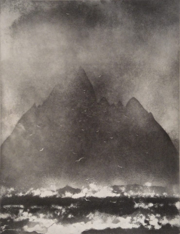 Norman Ackroyd Little Skellig Rock Co. Kerry, 1988