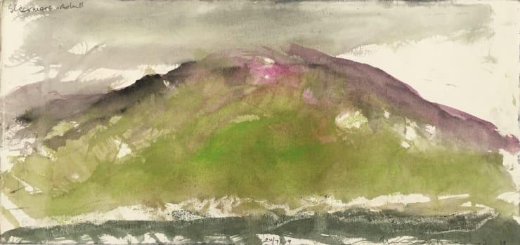 Norman Ackroyd Slievemore - Achill, 2019