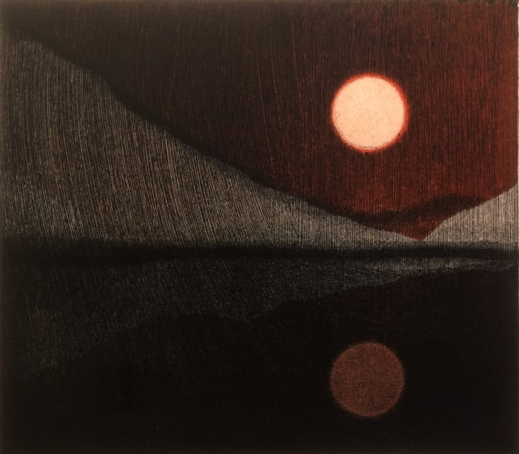 Nigel Swift (Perfect Calm) Two Moons, 2018