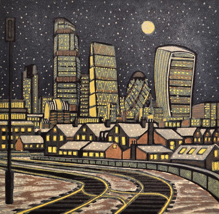 Gail Brodholt London Snow