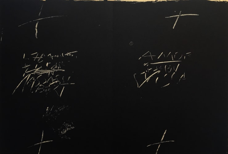 Antoni Tápies From 'Derrière le Miroir - Tapies: Monotypes' , 1974