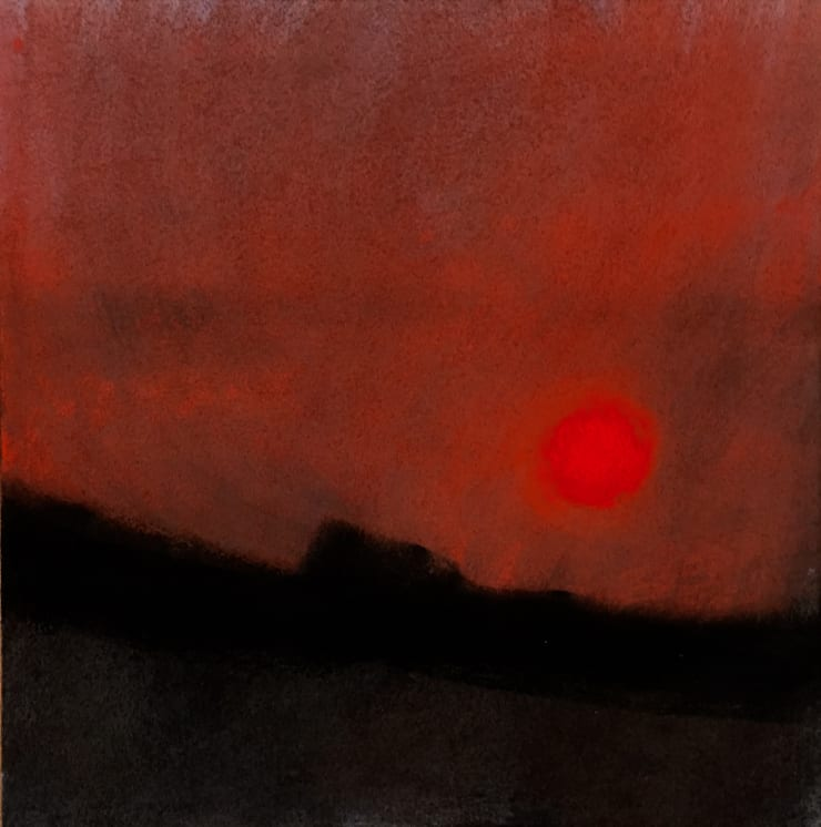 Nigel Swift Burning Sky, 2019