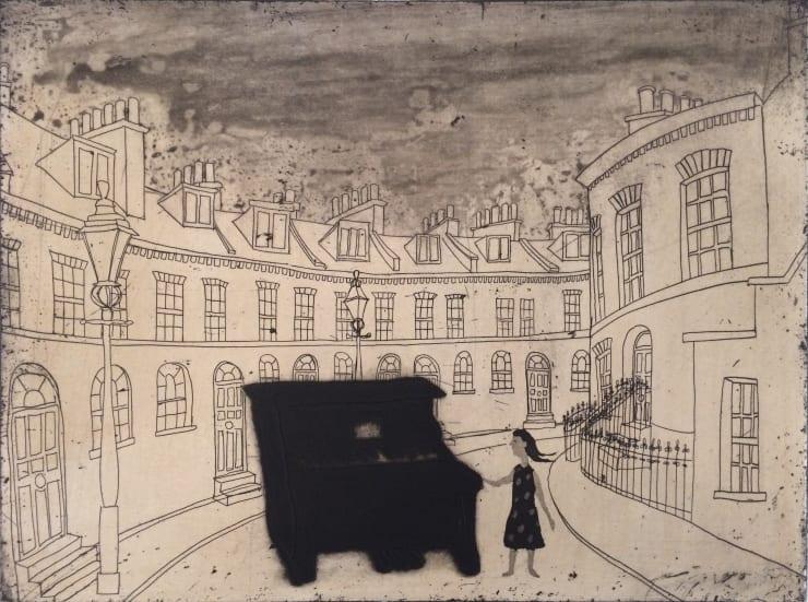 Mychael Barratt Urban Myths IV - Street piano in Keystone Crescent