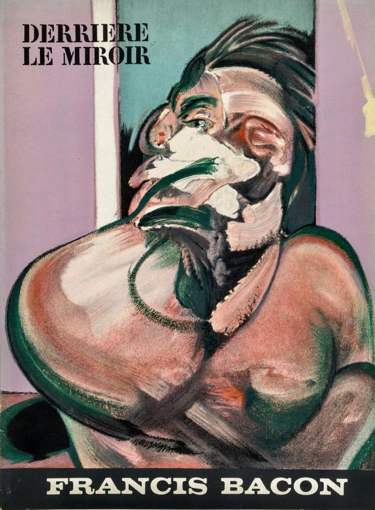 Francis Bacon Cover from 'Derrière le Miroir - Francis Bacon', 1966