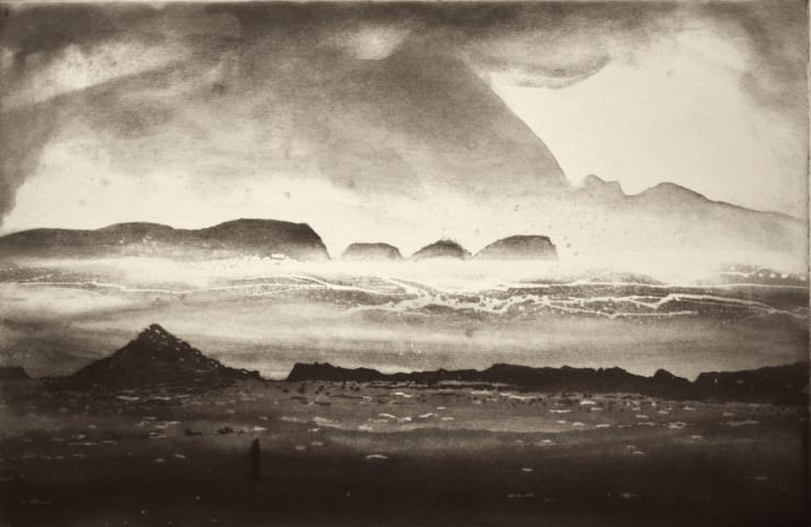 Norman Ackroyd Duvillaun More and Achill, 2000