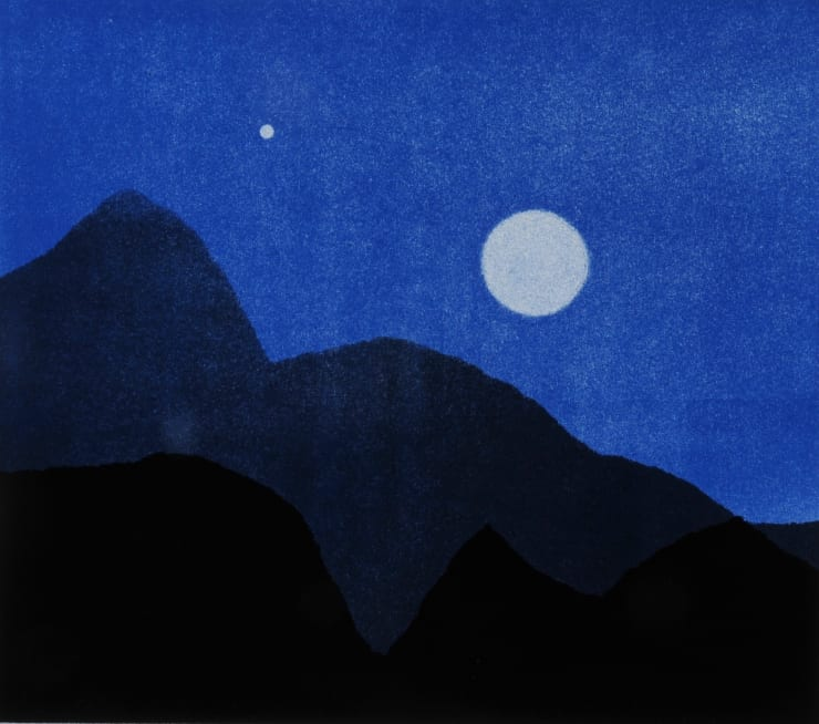 Nigel Swift The Moon and Jupiter, 2019