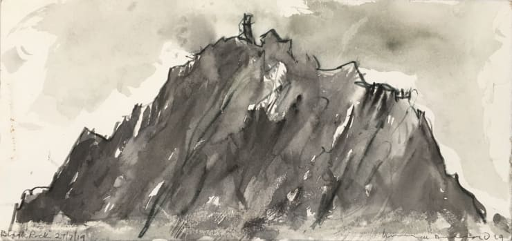 Norman Ackroyd Black Rock (I), 2019