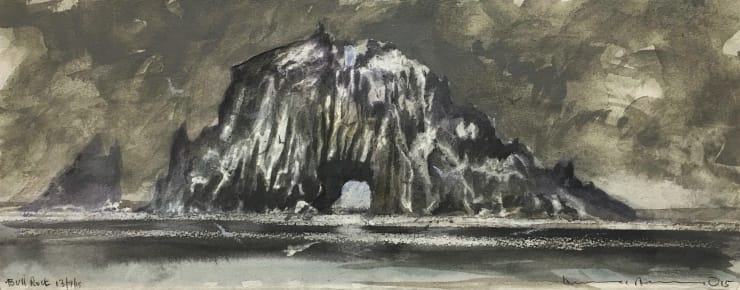 Norman Ackroyd Bull Rock, 2015