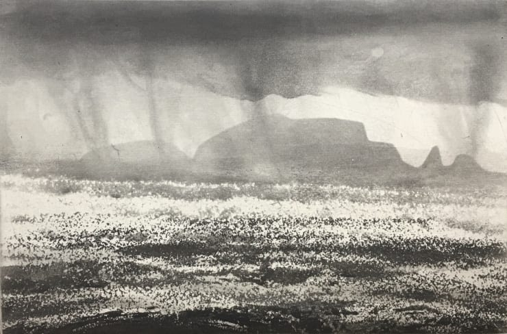 Norman Ackroyd High Island, 2019