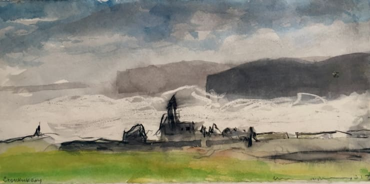 Norman Ackroyd Crosskirk Bay, 2017
