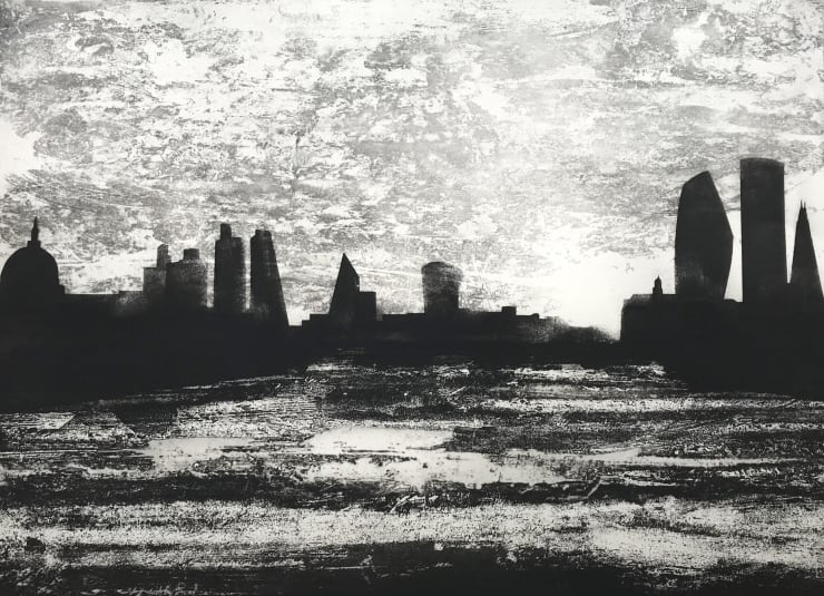 Jason Hicklin The Thames. Kings Reach (Waterloo Bridge), 2019