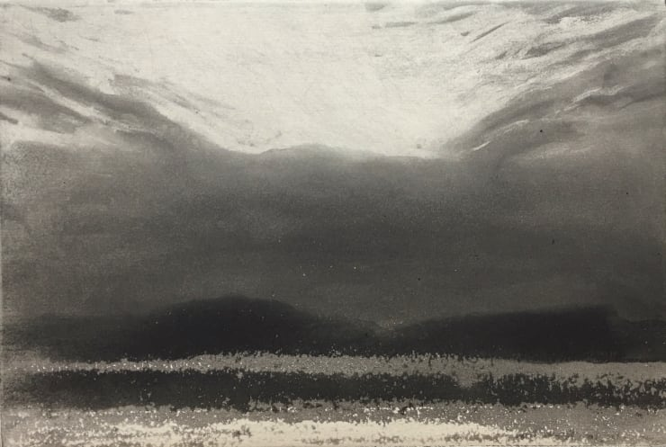 Norman Ackroyd The Gower in Twilight, 2019