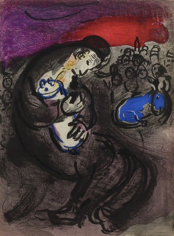 Marc Chagall Lamentations of Jeremiah, 1956