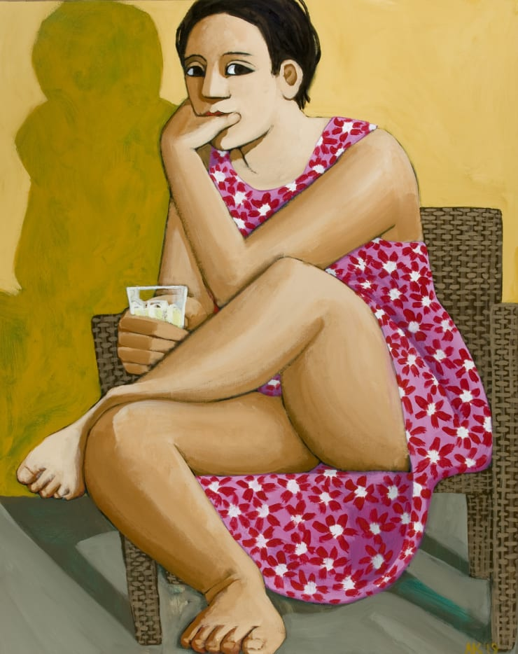 Anita Klein Summer on the Balcony, 2019