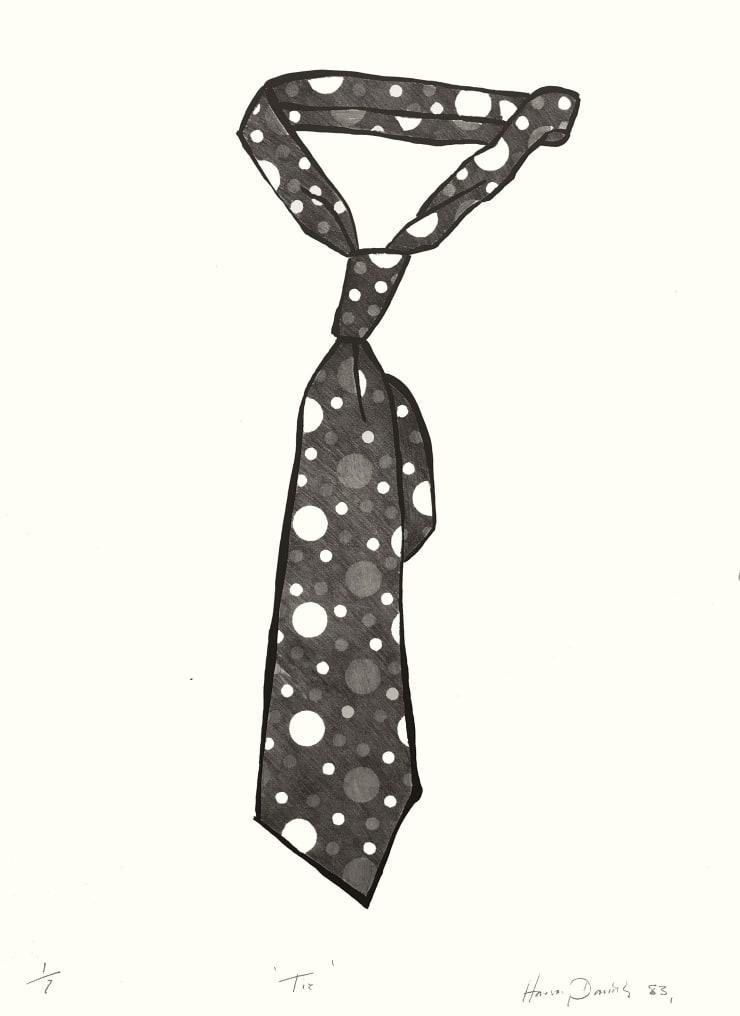 Harvey Daniels Tie, 1983