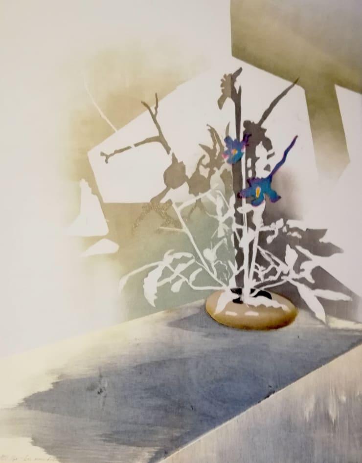 Sophie Layton Still Life - Iris (Monochrome), 2019