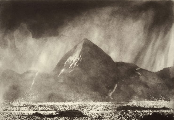 Norman Ackroyd Croagh Patrick from Achill, 2000
