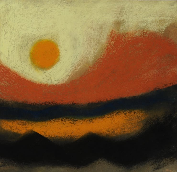 Nigel Swift Desert Sunrise, 2019