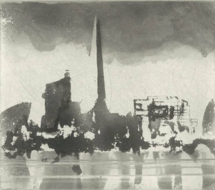 Norman Ackroyd Pool of London , 2019
