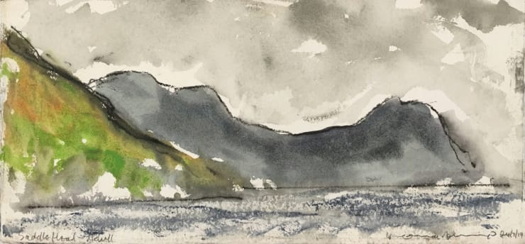 Norman Ackroyd Saddle Head - Achill (I), 2019