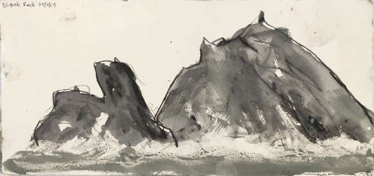 Norman Ackroyd Black Rock (II), 2019