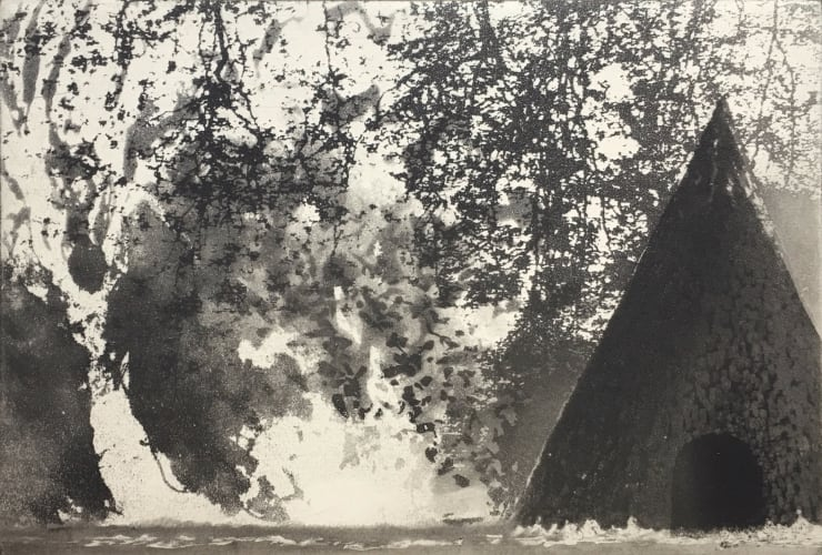 Norman Ackroyd At Antony, 2019