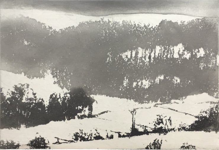 Norman Ackroyd Under Hambleton, 2019