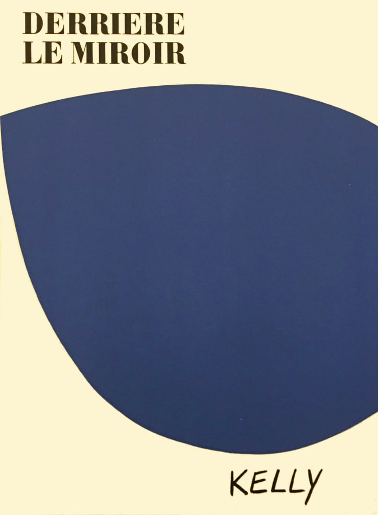 Ellsworth Kelly From 'Derrière le Miroir - Kelly' , 1958