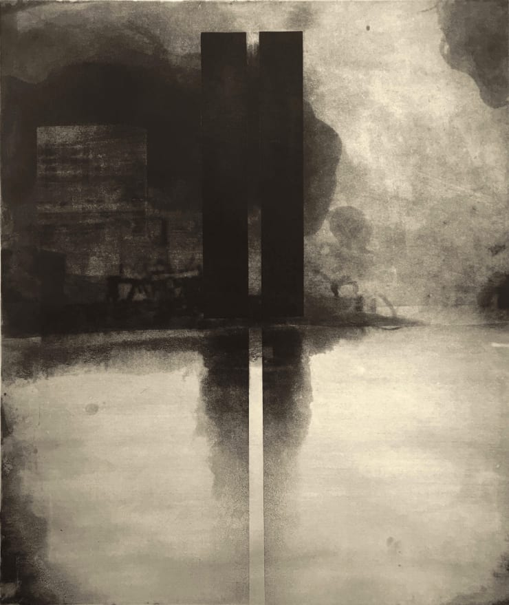 Norman Ackroyd Battery Park, 1973