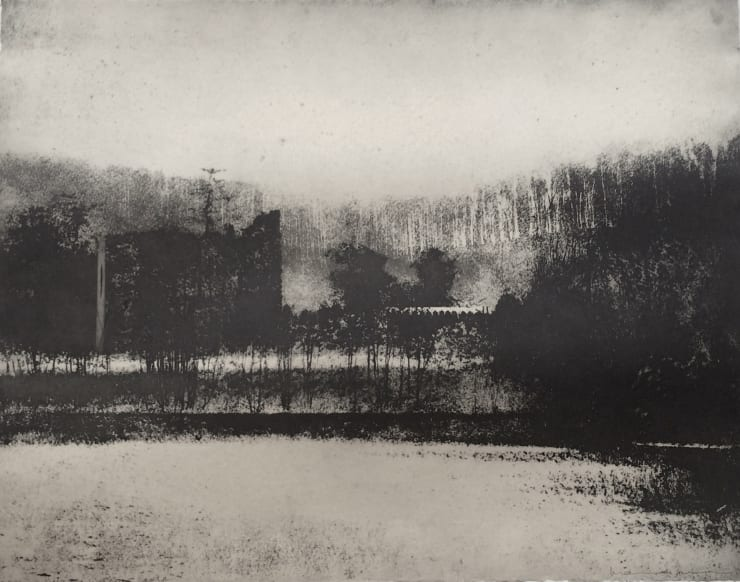 Norman Ackroyd Morning Picture, Wardour Castle, 1999