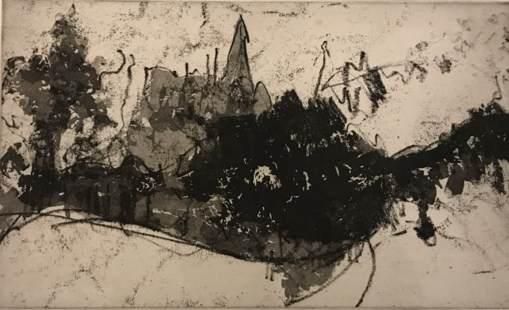 Jason Hicklin Highgate Church from Kenwood, 1991