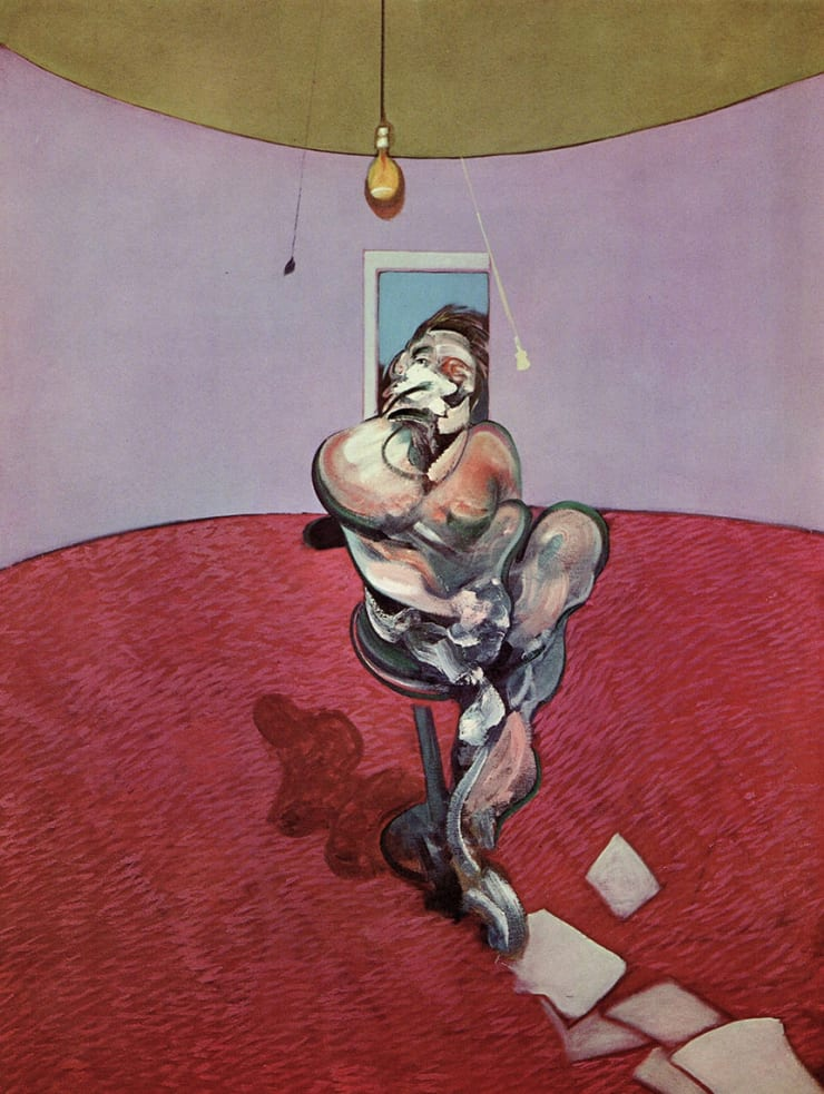 Francis Bacon George Dyer Conversing, 1966