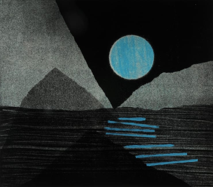 Nigel Swift Arctic Moon, 2019