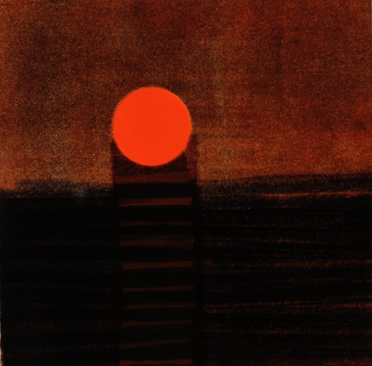 Nigel Swift Setting Sun, 2019