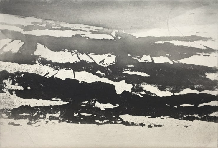 Norman Ackroyd Wharfedale in February, 2019