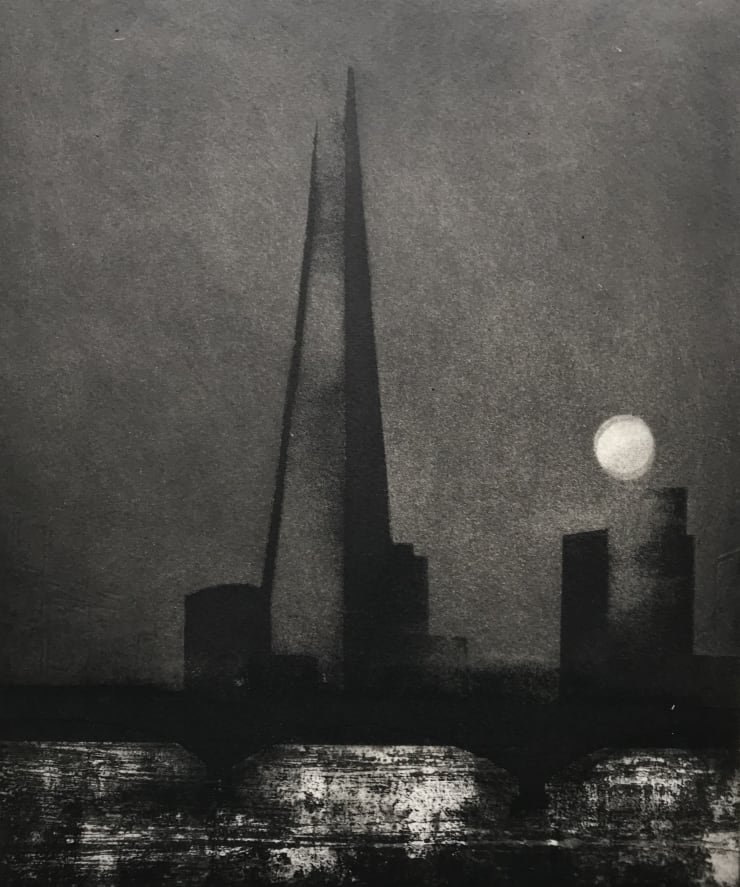 Jason Hicklin The Thames. Stugeon Moon, 2019