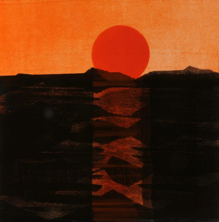 Nigel Swift Sun and Earth, 2019
