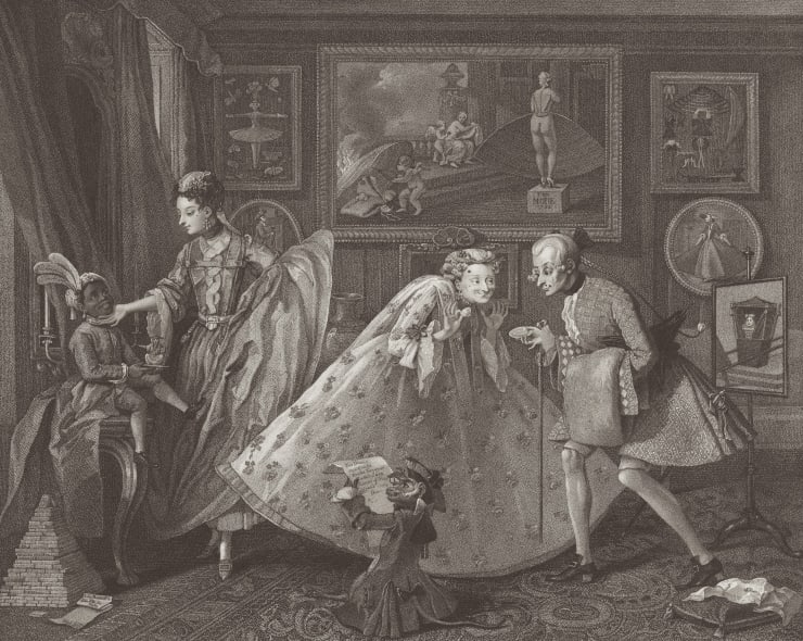 William Hogarth: An introduction to his engravings