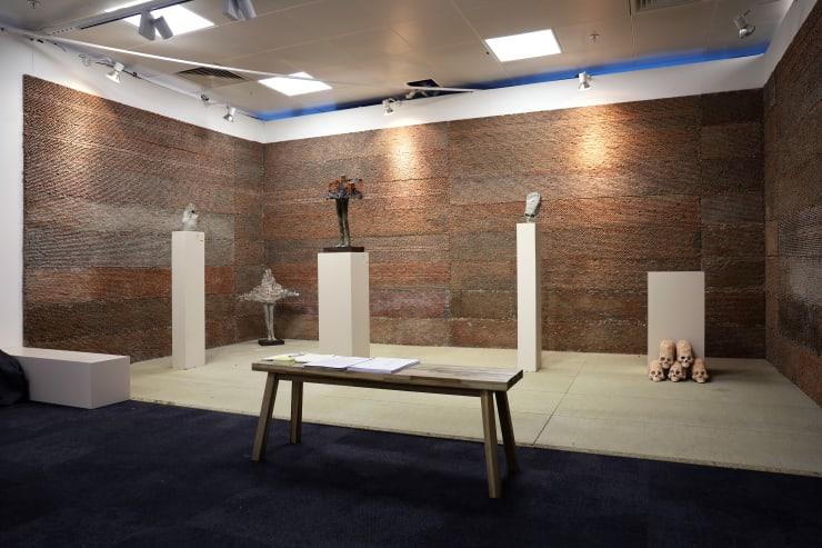 Cesar Cornejo At Ed Cross Fine Art London Art Fair 2020