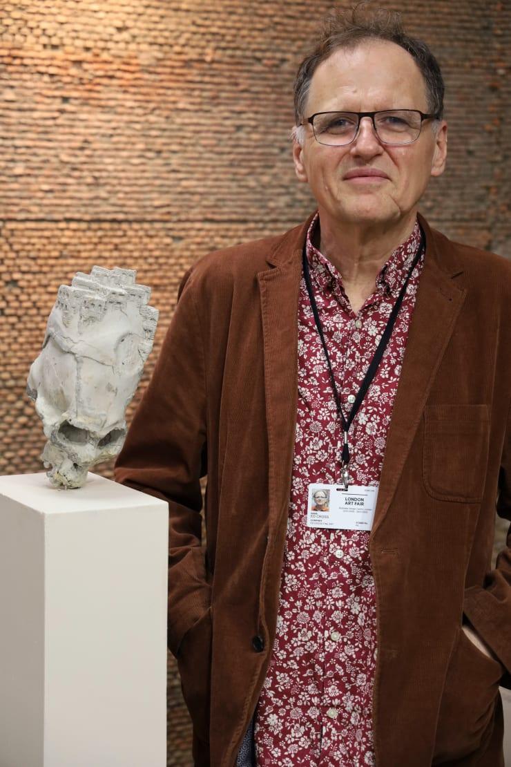 Ed Cross And Trepanation 2 By Cesar Cornejo At London Art Fair 2020