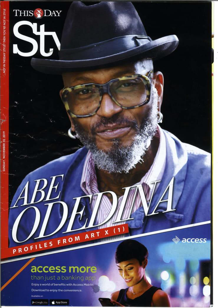 Abe Odedina, cover ThisDay Style