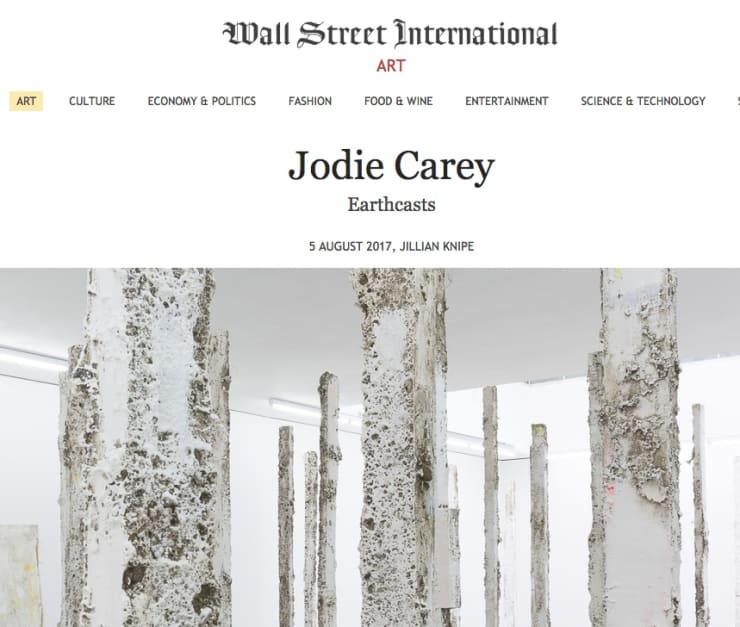 Jodie Carey review in Wall Street International