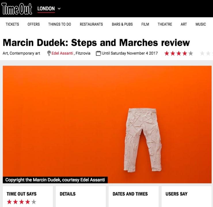 Marcin Dudek in TimeOut London