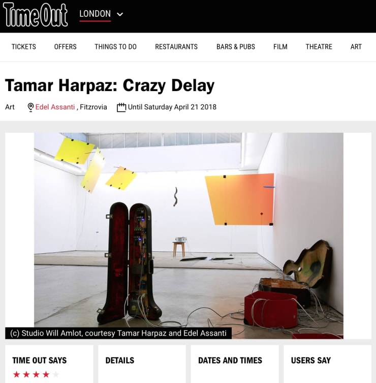 Tamar Harpaz in Time Out