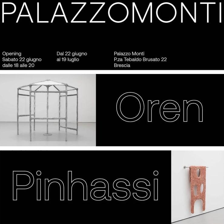 Oren Pinhassi at Palazzo Monti, Brescia, Italy