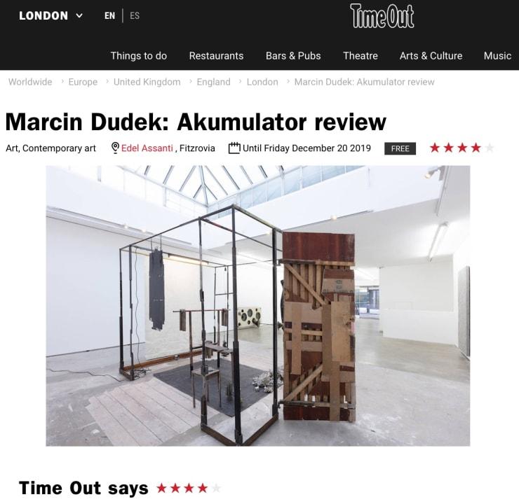 Marcin Dudek in Time Out London