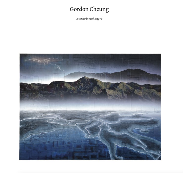 Gordon Cheung in ArtReview Asia