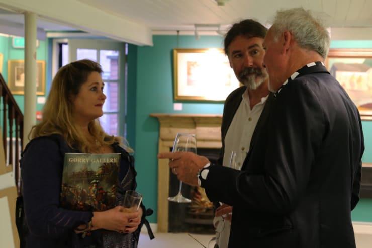 Gerard Byrne Irish Paintings Exhibition 2017 Gorry Gallery Dublin 2