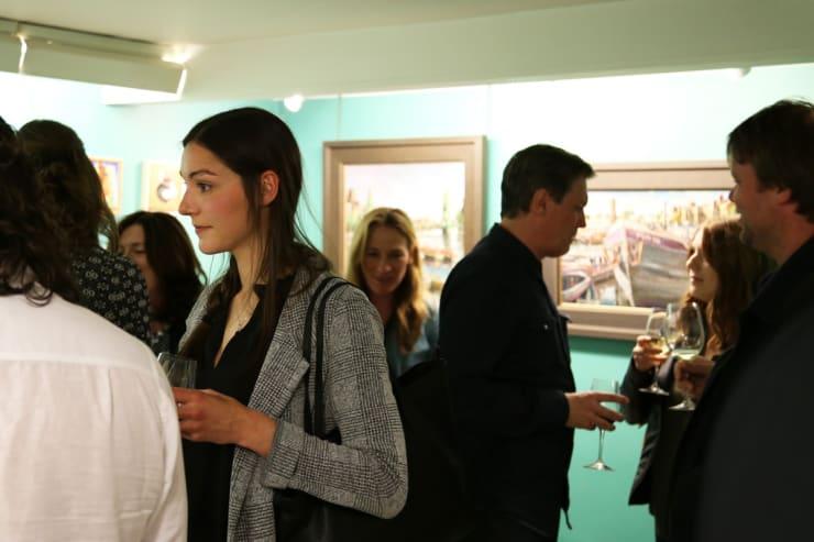 Gerard Byrne Irish Paintings Exhibition 2017 Gorry Gallery Dublin 4